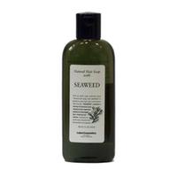 Lebel Natural Hair Soap Treatment Seaweed - Шампунь с морскими водорослями 240 млШампуни для волос<br>Шампунь «Морские водоросли» Lebel Natural Hair Soap Treatment для нормальных волос и слабо повреждённых волос с экстрактом морских водорослей.Укрепляет волосы.Удобен для частого применения.Защищает от негативного воздействия окружающей среды.Выводит токсины из волос.Защищает от УФ (SPF 15).Состав: экстракт морских водорослей, соевый лецитин, экстракт ромашки.Способ применения: небольшое количество шампуня (5 – 10 мл для волос средней длины) нанести на влажные волосы, помассировать. Смыть тёплой водой. Повторить процедуру. Можно использовать ежедневно.Объём: 240 мл<br>