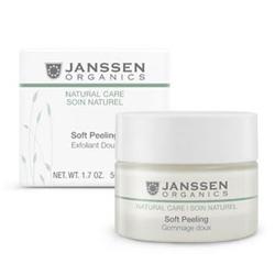 Janssen Organics Soft Peeling - Деликатный пилинг для очищения и выравнивания рельефа кожи 150 мл