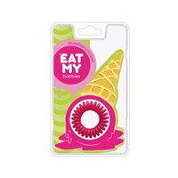 """EAT MY Bobbles Strawberry Sorbet - Резинки для волос """"клубничный сорбет"""" 3 шт"""