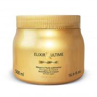 Kerastase Elixir Ultime Beautifying Oil Masque - Маска Эликсир Ультим 500 млМаски для волос<br>Маска, обогащенная драгоценными маслами, обеспечивает питательный уход. Кремовая текстура и чувственный аромат делают волосы мягкими и благоухающими. Волосы полностью восстанавливаются и получают глубокое питание. Подходит для всех типов волос.Масло Pracaxi: это дерево растет в Амазонии, а его масло известно своими антиоксидантными свойствами. Оно питает волосы и усиливает их сияние.Аргановое масло: одно из самых редких в мире, высоко ценится за восстанавливающие и регенерирующие свойства. Это масло делает волосы легкими и послушными.Кукурузное масло: богато витаминами А, Е и жирной кислотой омега-6. Его получают из зародышей кукурузы, выращенной в Центральной Америке. Масло питает волосы, обеспечивая им блеск, мягкость и защиту.Масло камелии: самое ароматное и роскошное из всех масел. Его используют жители Центральной и Восточной Азии. Оно дарит волосам невероятный блеск, помогает восстановить их структуру и делает волосы послушными.Применение: Небольшое количество маски массажными движениями распределить по всей длине вымытых влажных волос. Через 5-10 минуты смыть водой.Объём: 500 мл<br>