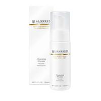 Janssen Opus Belle Anti-Age Cleansing Mousse - Нежный очищающий мусс 150 млСредства для ухода за лицом<br>Нежный очищающий мусс для возрастной кожи. Превращает ритуал очищения в наслаждение свежестью и чистотой. Деликатно удаляет загрязнения и макияж. Активно ухаживает за кожей уже на этапе очищения.Применение: Нанесите на кожу лица, шеи и декольте, немного помассируйте, добавив воды, смойте большим количеством воды. Продолжите уход как обычно.В салоне применять согласно регламенту процедуры.Активные компоненты: Мягкий очищающий комплекс на основе пальмового масла и аминокислот, ферментированный черный чай (комбуча).Объем: 150 мл<br>