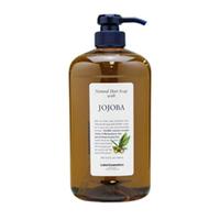 Lebel Natural Hair Soap Treatment Jojoba - Шампунь с маслом жожоба 1000 млШампуни для волос<br>Увлажняющий шампунь «Жожоба» Lebel Natural Hair Soap Treatment:Эффективно увлажняет и питает волосы.Удерживает влагу внутри волоса.Устраняет сухость и ломкость волос.Подходит для ухода за наращенными волосами.Защищает от УФ (SPF 15).Состав: масло жожоба, экстракты ромашки и гардении.Способ применения: небольшое количество шампуня (5 – 10 мл для волос средней длины) нанести на влажные волосы, помассировать. Смыть тёплой водой. Повторить процедуру. Можно использовать ежедневно.Объём: 1000 мл<br>