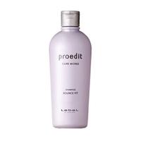 Lebel Proedit Care Works Bounce Fit Shampoo - Шампунь для мягких волос 300 млШампуни для волос<br>Восстанавливающий шампунь для мягих волос Lebel Proedit Care Works:Бережно и эффективно очищает волосы и кожу головы.Нейтрализует остатки производных после химического воздействия.Восстанавливает поврежденную структуру волоса.Выравнивает поверхность волоса.Устранет ломкость.Придает волосам плотность и эластичность.SPF 10.Способ применения: небольшое количество шампуня (5 – 10 мл для волос средней длины) нанести на влажные волосы. Помассировать. Смыть тёплой водой. Повторить процедуру. Можно использовать ежедневно.Объём: 300 мл<br>