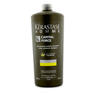 Kerastase Homme Capital Force Daily Treatment Shampoo Vita-Energising Effect - Энергетический шампунь 1000 мл
