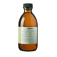 Davines Alchemic Shampoo for natural and coloured hair (golden) - Шампунь «Алхимик» для натуральных и окрашенных волос (золотой) 280 мл