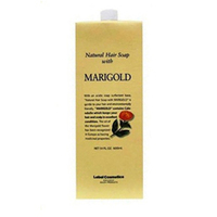Lebel Natural Hair Soap Treatment Marigold - Шампунь с календулой 1600 млШампуни для волос<br>Шампунь «Календула» Lebel Natural Hair Soap Treatment для жирной кожи головы с экстрактом календулы.Мягко очищает кожу головы и волосы.Сужает поры и оздоравливает кожу головы.Освежает.Хорошо увлажняет.Нормализует рН баланс кожи головы.Защищает от УФ (SPF 15).Состав: экстракты календулы и ромашки, соевый лицетин, ментол.Способ применения: небольшое количество шампуня (5 – 10 мл для волос средней длины) нанести на влажные волосы, помассировать. Смыть тёплой водой. Повторить процедуру. Можно использовать ежедневно.Объём: 1600 мл<br>