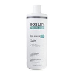 Bosley Воs Defense (step 2) Volumizing Сonditioner Normal to Fine Non Color-Treated Hair - Кондиционер для объема нормальных/тонких неокрашенных волос 1000 мл