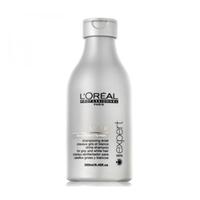 LOreal Professionnel Expert Silver / Сильвер - Шампунь для нейтрализации желтизны 250 млШампуни для волос<br>Шампунь для нейтрализации желтизны Сильвер создан специально для мягкого очищения седых волос. Система Глосс Протект избавляет волосы от желтизны. Богатая формула шампуня содержит:витамины и минералы - увлажняют и питают волосы, восстанавливают гидробаланс кожи головы и работу сальных желез;протеины и керамиды - защищают волосы от ломкости и выпадения;комплекс для блеска - придает волосам естественное сияние и блеск.Способ применения: нанесите шампунь и распределите массирующими движениями по всей длине волос, а затем обильно промойте водой.Объём: 250 мл<br>
