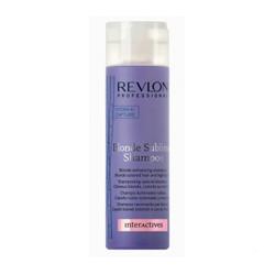 Revlon Professional Interactives Blonde Sublime Shampoo - Шампунь, усиливающий цвет светлых волос 250 мл