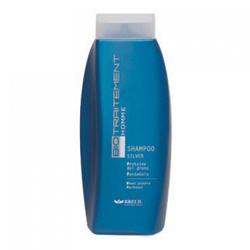 Brelil Bio Traitement Homme Shampoo Silver - Тонирующий шампунь для седых волос 250 мл