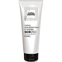 Estel Рrofessional Alpha Homme Pro Scrub - Скраб для кожи лица и головы 250 мл