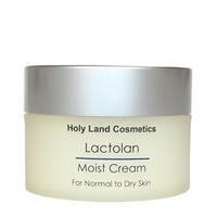 Holy Land Lactolan Moist Cream For Dry Skin - Увлажняющий крем для сухой кожи 70 млКрема для лица<br>Увлажняющий, питательный и восстанавливающий крем для сухой кожи.Действие:Увлажнение и питание кожи.Придает коже бархатистость, мягкость, упругость.Ускоряет репаративные процессы, восстанавливает кожу после чистки и пилингов.Способ применения:Использовать в качестве увлажнителя, защиты и основы под макияж.Объем:70 мл<br>