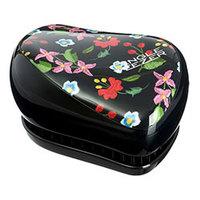 Tangle Teezer Compact Styler Embroidered Floral - Расческа для волос с изображением вышитых цветов