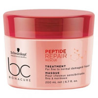 Schwarzkopf BC Bonacure Peptide Repair Rescue Treatment - Маска для волос 200 мл