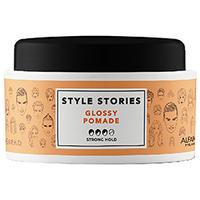 Alfaparf Style Stories Glossy Pomade - Помада сильной фиксации, придающая экстра блеск 100 мл