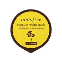 Innisfree Capsule Recipe Pack Rape Nectar - Маска для лица капсульная (нектар рапса) 10 мл