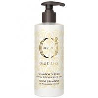 Barex Olioseta Oro Di Luce Shampoo - Шампунь-блеск с протеинами шелка и семенем льна 750 мл