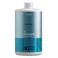 Lakme Teknia Body Maker shampoo - шампунь для волос, придающий объем 1000 млСредства для ухода за волосами<br><br>