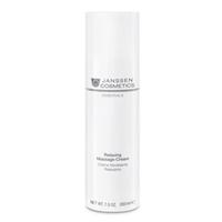 Janssen Dry Skin Relaxing Massage Cream - Релаксирующий массажный крем для лица 200 млКрема для лица<br>Универсальный легкий, нежирный массажный крем, применимый в уходе за кожей лица, в том числе и чувствительной. Стимулирует микроциркуляцию, успокаивает и смягчает кожу, восстанавливает водный и рН-баланс кожи, питает и защищает кожу от обезвоживания. Отличается идеальным скольжением.Активные компоненты:Бисаболол, масла апельсина и арахиса.Применение:Использовать в профессиональном уходе для выполнения массажа.Объем:200 мл<br>