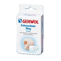 Gehwol Zehenschutz-Ring - Кольца для пальцев защитные малые 2 штСредства для ухода за ногами<br>Кольца для пальцев защитные малые Геволь (Gehwol Zehenschutz-Ring) - мягкое, не приносящее беспокойства кольцо из пено-материала, применяемое при возникновении натертых мест на пальцах и между пальцами, сдавливании и неправильном положении пальцев ног.Медицинский продукт.Назначение: Защищает от болезненного сдавливания мозоли на пальцах и между ними, костные наросты.Количество: 2 шт<br>