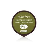 Innisfree Capsule Recipe Pack Red Kiwi - Маска для лица капсульная (красный киви) 10 мл