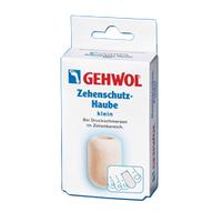 Gehwol Zehenschutz-Haube - Колпачок для пальцев защитный малый 2 штСредства для ухода за ногами<br>Колпачок для пальцев защитный Геволь малый (Gehwol Zehenschutz-Haube) изготовлен из мягкого пенообразного материала, плотно прилегает к коже. Эффективно защищает от надавливания мозоли, натертостей и костных наростов.Рекомендуется использовать для защиты от давления на кончик пальца при вросшем ногте.Медицинский продукт.Назначение: защищает от воздействия мозолей, натертостей и костных наростов.Количество:  2 шт<br>