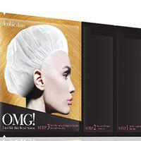 Double Dare OMG 3In1 Kit Hair Repair System - Трехкомпонентный комплекс масок «реанимация волос», упаковка 5 шт