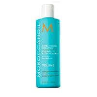 Moroccanoil Shampoo Extra Volume - Шампунь экстра объем 250 млШампуни для волос<br>Шампунь для придания объема Moroccanoil Shampoo Extra Volume бережно очищает волосы очищает волосы от загрязнений, защищает от негативного воздействия окружающей среды. Благодаря активным компонентам, шампунь дарит тонким, безжизненным волосам силу, жизненную энергию и потрясающий объем, уплотняя кутикулу каждого волоска изнутри.Применение: Нанести на влажные волосы и нежно помассировать кожу головы. Промыть и повторить по мере необходимости. Для достижения наилучших результатов, используйте также Moroccanoil Conditioner Extra Volume.Объём: 250 мл<br>