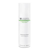 Janssen Combination Skin Balancing Cream - Балансирующий крем 200 млКрема для лица<br>Крем для комбинированной кожи с чрезвычайно нежной текстурой. Выравнивает цвет лица, матирует, снижает количество вырабатываемого себума и улучшает состояние пор. Прекрасно увлажняет и помогает удерживать влагу в коже. Восстанавливает естественный баланс как на жирных, так и на сухих участках кожи, смягчает и разглаживает.Применение:Наносите регулярно утром и/или вечером массажными движениями после очищения кожи с помощью Gentle Cleansing Powder. Идеально подходит в качестве основы под макияж.Активные компоненты:Инозитол, экстракт красных водорослей (Chondrus crispus), сложные углеводы из рисовых отрубей, экстракт алоэ вера, матирующие микрочастицы (полиамидная пудра), глюкоза.Объем:200 мл<br>