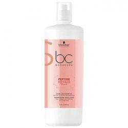 Schwarzkopf BC Bonacure Peptide Repair Rescue Micellar Shampoo - Мицеллярный шампунь для волос 1000 мл