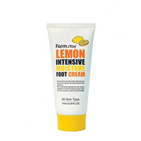 Farmstay Lemon Intensive Moisture Foot Cream - Крем для ног увлажняющий с экстрактом лимона 100 мл