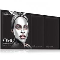 Double Dare OMG 3In1 Kit Platinum - Трехкомпонентный комплекс масок «активный лифтинг и восстановление», упаковка 5 шт