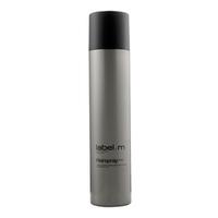 Label.M Complete Hairspray - Лак для Волос 300 млУкладочные средства<br>Обеспечивает гибкую фиксацию, не склеивает волосы. От средней до сильной фиксации. Содержит УФ фильтры. Позволяет повторно моделировать и изменять форму прически, не перегружая волосы.Применение: наносить на сухие волосы, распыляя на участки, где необходима фиксация.Объем: 300 мл<br>