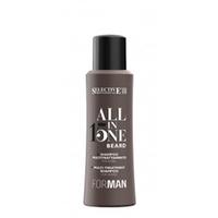 Selective All in One Beard Shampoo - Многофункциональный шампунь для ухода за бородой 100 мл