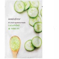 Innisfree My Real Squeeze Mask Cucumber - Маска для лица тканевая (огурец) 20 мл