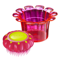 "Tangle Teezer Magic Flowerpot Princess Pink - Детская расческа для волос ""принцесса розового"""