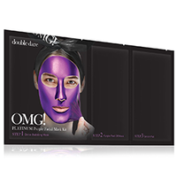 Double Dare OMG 3In1 Kit Platinum - Трехкомпонентный комплекс масок «глубокое увлажнение и релакс», упаковка 5 шт