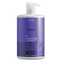 Lakme Teknia Ultra clair shampoo - шампунь тонирующий для светлых оттенков волос 1000 млСредства для ухода за волосами<br><br>