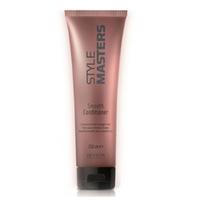 Revlon Professional SM Smooth Conditioner - Кондиционер для гладкости волос 250 млКондиционеры для волос<br>Кондиционер специально разработан для прямых волос. Предупреждает спутывание волос, защищает от влажности окружающей среды. Питает, восстанавливает и укрепляет волосы, делая волосы упругими и управляемыми.Волосы послушные, гладкие и блестящие. Пряди легко расчесываются, не спутываются и не электризуются.Способ применения: нанести на влажные волосы легкими массажными движеними. Подождать 3 минуты и смыть большим колличеством воды.Объём:250мл<br>