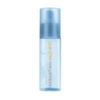 Sebastian Flaunt Halo Mist - Невесомый спрей-блеск с УФ-фильтром 100 млСредства для ухода за волосами<br>Невесомый спрей-блеск с УФ-фильтром Sebastian Professional Flaunt Halo Mist обладает кристально чистой текстурой. Невесомый спрей-блеск обеспечивает защиту от ультрафиолетовых лучей, а также люминесцентное сияние и сверкающий блеск ваших волос без перегружающего эффекта. После нанесения волосы остаются легкими, естественными и сияющими.Способ применения: Распылить на влажные волосы и высушить феном для гладкости и сверкающего блеска. Для максимального эффекта распылить спрей на готовую прическу. Для более легкого эффекта и исключительной гладкости распылить спрей на ладонях и равномерно разгладить волосы по всей длине.Объём: 100 мл<br>