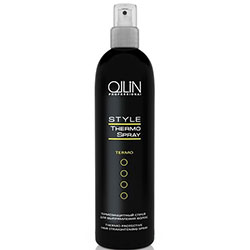Ollin Style Thermo Protective Hair Straightening Spray - Термозащитный спрей для выпрямления волос 250 мл