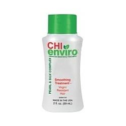 CHI Enviro American Smoothing Treatment Pearl & Silk Complex Virgin and Resistant Hair - Разглаживающее средство для натуральных волос 59 мл