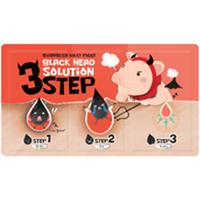 Elizavecca Milky Piggy Black Head Solution 3 Step - Набор для удаления черных точек 6 г