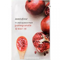 Innisfree My Real Squeeze Mask Pomegranate - Маска для лица тканевая (гранат) 20 мл
