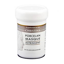 Christina Porcelan Astrigent Porcelan Mask - Поросуживающая маска «Порцелан» для жирной и проблемной кожи 250 мл