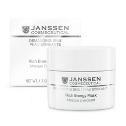 Janssen Demanding Skin Rich Energy Mask - Энергонасыщающая регенерирующая маска 50 мл