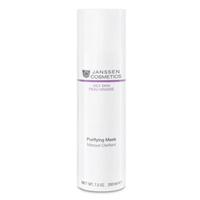 Janssen Oily Skin Purifying Mask - Себорегулирующая очищающая маска 200 млМаски для лица<br>Специальная маска на основе целебной глины для глубокого очищения жирной кожи и кожи с акне. Нормализует синтез себума, адсорбирует его избыток, не пересушивая при этом кожу, улучшает состояние пор. Обладает противовоспалительными свойствами и предотвращает возникновение акне. Кожа становится здоровой, матовой и выглядит идеально ухоженной.Применение:Наносите на очищенную кожу 1–2 раза в неделю, избегая области вокруг глаз. Оставьте на 20 минут, затем тщательно смойте теплой водой или снимите влажным компрессом. При необходимости возможно более частое локальное применение на проблемные области. Совет: Маска быстро высыхает. Ее будет легче снять, если сначала слегка поддеть ее влажными кончиками пальцев. Продукт идеально подходит для ухода за Т-зоной комбинированной кожи.В салоне применять согласно регламенту процедуры.Активные компоненты:Себорегулирующий комплекс (олеанолевая и нордигидрогваяретовая кислота), каолин, экстракт алоэ вера, экстракт грибов Fomes officinalis, бисаболол, лецитин, витамины C и E.Объем:200мл<br>