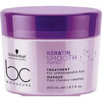 Schwarzkopf BC Bonacure Keratin Smooth Perfect Treatment - Маска для волос 200 мл