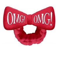 Double Dare OMG Hair Band Red - Бант-повязка для фиксации волос во время косметических процедур красный
