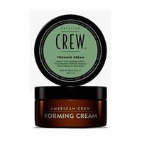 American Crew Forming Cream - Крем для укладки волос 85 млСтайлинг мужской<br>Как бывает тяжело уложить вечно непослушные волосы, никак не хотящие ровно укладываться в красивую прическу. А гладкую прическу, несмотря на все мучения, хочется. Воспользуйтесь кремом American Crew Forming Cream, способным решить эту проблему. Крем для укладки имеет водную основу, поэтому легко смывается шампунем и не оставляет никаких следов. Сахароза увлажняет волосы, фиксирующий полимер придает волосам объем и упругость, а глицерин смягчает волосы, делая их гуще и объемнее.Способ применения: Возьмите разглаживающий крем от компании American Crew и нанесите его на слегка влажные волосы, распределяя средство равномерно от корней до кончиков волос. После того, как волосы были подготовлены, приступайте к укладке прически феном.Объем:85 мл<br>